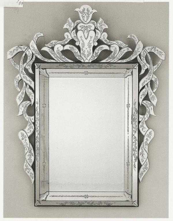Magnificent hand-crafted 18th century-style bevelled Venetian mirror