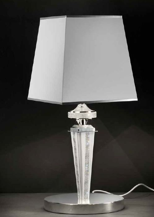 Modern Italian Table Lamp With Black, Red, White, Or Tobacco Coloured U2014  Italian Lighting Center