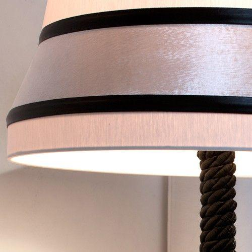 High-end Audrey Hepburn-inspired table lamp with velvet trim