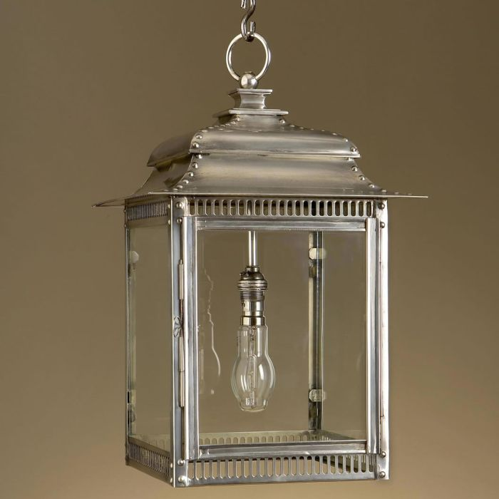 Classic home and garden lantern with bespoke finishes