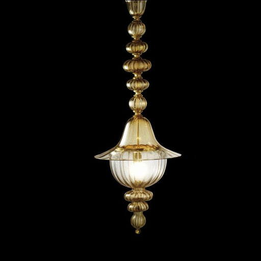 The 120 cm  Doge Murano glass ceiling lantern from Venini