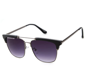 Retro Half Frame Silver/Purple