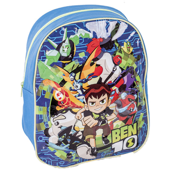 Ben 10 LED Light-Up Junior Backpack - CHARACTEROUTLET.co.uk