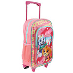Paw Patrol Skye & Everest 'Best Pups Ever' Deluxe Trolley Backpack - CHARACTEROUTLET.co.uk
