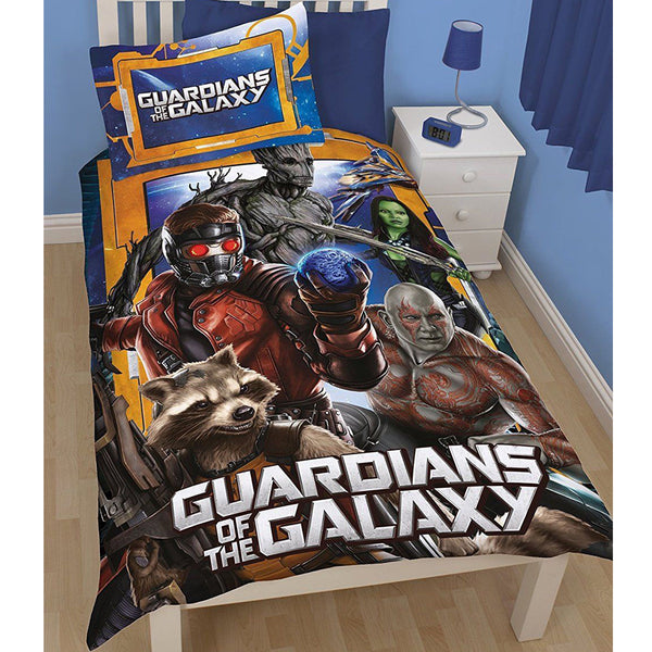 Marvel Guardians of the Galaxy 'Misfits' Single Duvet - CHARACTEROUTLET.co.uk