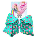 Jojo Siwa Green Sweets Signature Single Bow with Necklace