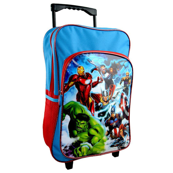 Avengers 'Force' Deluxe Trolley Backpack - CHARACTEROUTLET.co.uk
