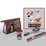 Secret Life Of Pets 'Every Dog Has Its Day' Bathroom Travel Set - CHARACTEROUTLET.co.uk