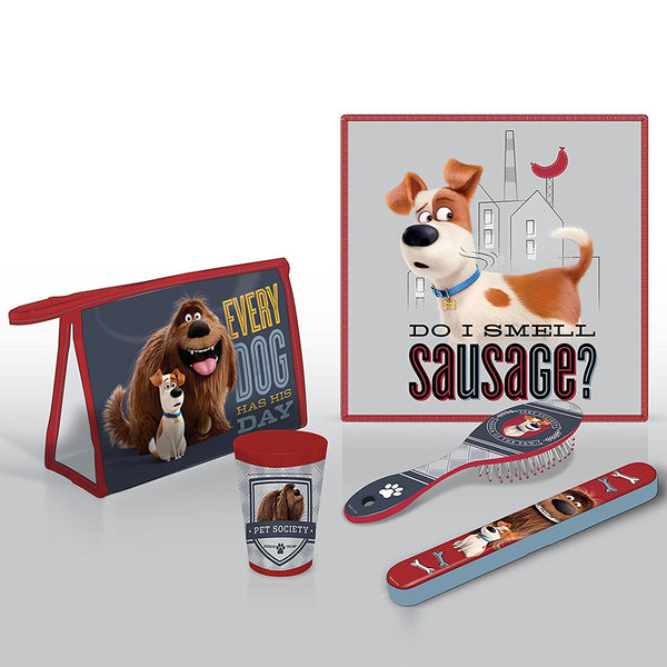 Secret Life Of Pets 'Every Dog Has Its Day' Bathroom Travel Set