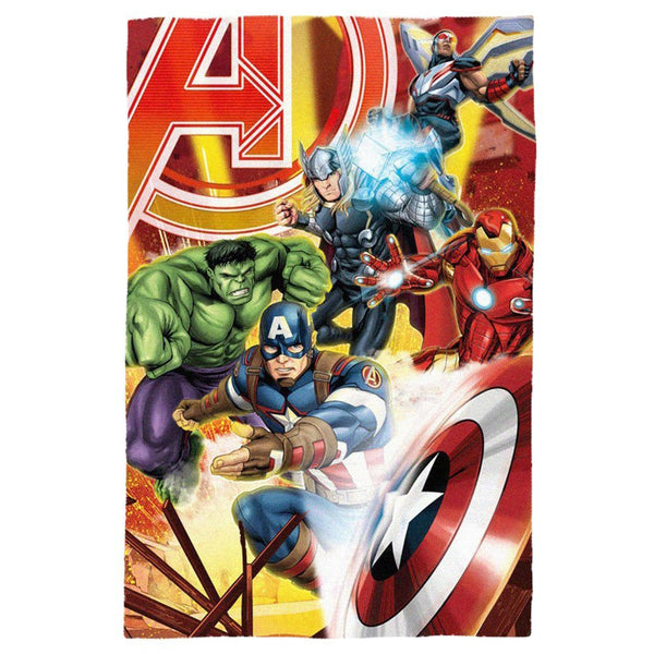 Marvel Avengers 'Infinity War' Fleece Blanket - CHARACTEROUTLET.co.uk