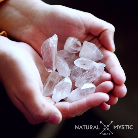 sélection de quartz natural mystic shop