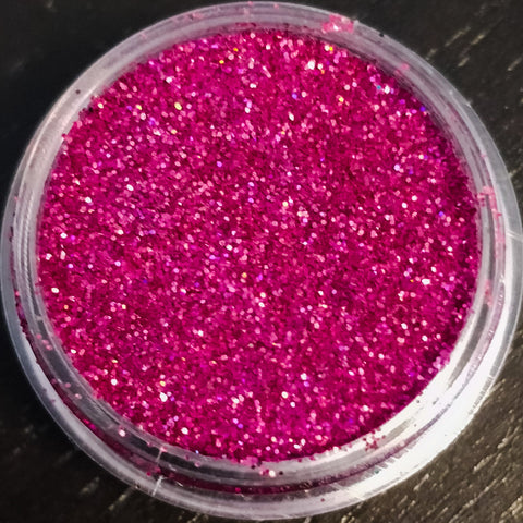 Holographic Hot Pink Fine Glitter Dust
