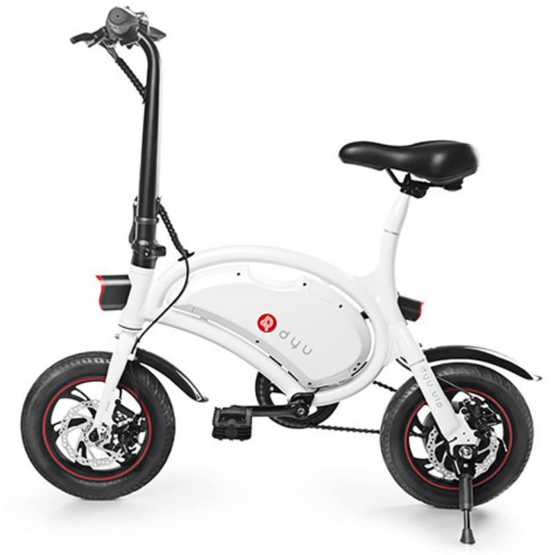 Dyu Smart Bike D2 - Motorized w/Power Assist e-Bike - Zendrian