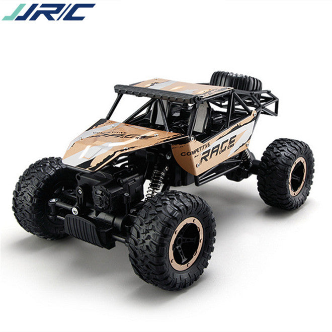 Rock Climbing Four-Wheel Drive Off-Road R/C Car - Giant Size 1:14 Scale - Zendrian