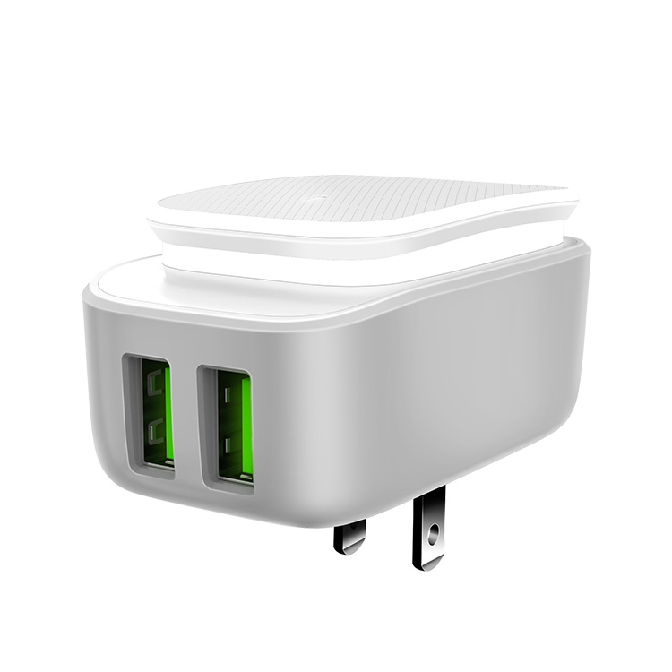LDNIO A2205 Dual USB 2.4A Charger and Night Light - Zendrian