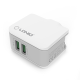 LDNIO A2203 2.4A 2 USB Port Travel Charger