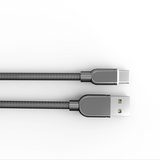 LDNIO LS62 USB Cable Type-C-Silver 1m