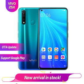 "Vivo Z5X 6.53"" Full Screen 8G 128G Snapdragon 710 OTG Reverse charging 2340*1080 5000mAh Fingerprint+Face ID 16MP+16MP+8MP+2MP"