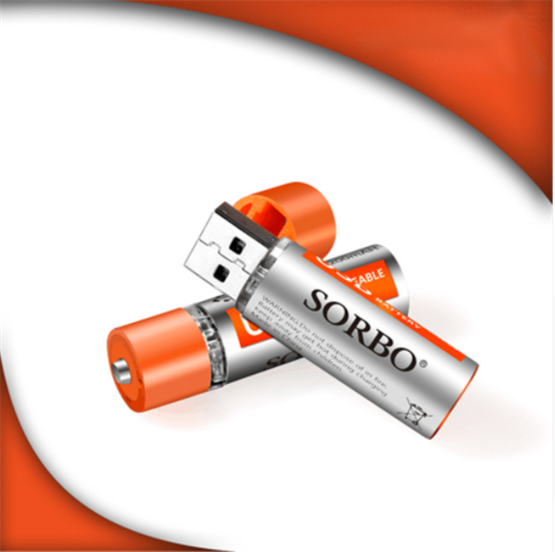 Sorbo 1.5V  Rechargeable  Battery (4 Pack) - Zendrian