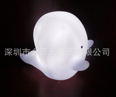 JYG Vinyl ghost LED night light - Zendrian