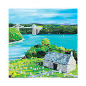 CHURCH ISLAND Greetings Cards (x6)