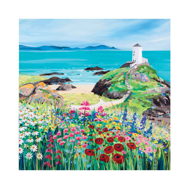 LLANDDWYN FLOWERS Greetings Cards (x6)
