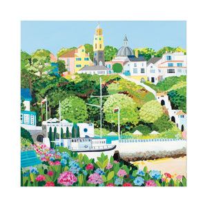 PORTMEIRION VILLAGE Greetings Cards (x6)