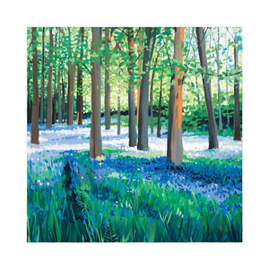 SEA OF BLUEBELLS Greetings Cards (x6)