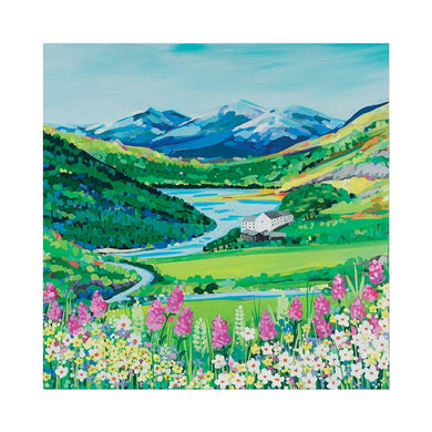 SNOWDON FLOWERS Greetings Cards (x6)