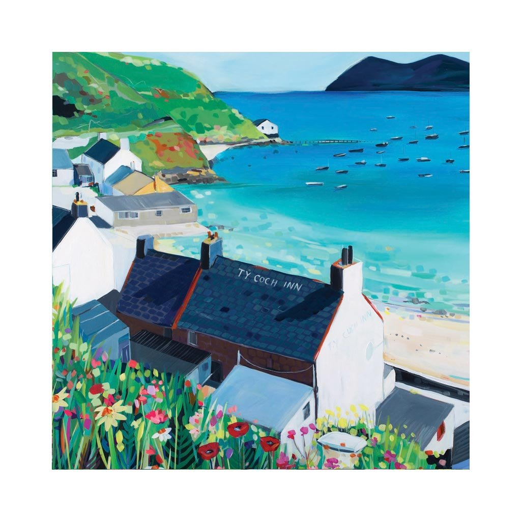 TY COCH INN Greetings Cards (x6)