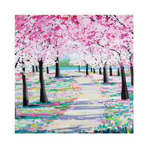 BLOSSOM PATH Greetings Cards (x6)
