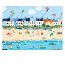 KITES AT THE BEACH POSTCARD (x50)