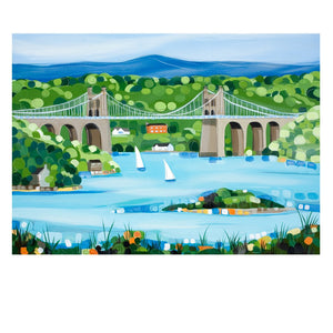 MENAI BRIDGE POSTCARD (x50)