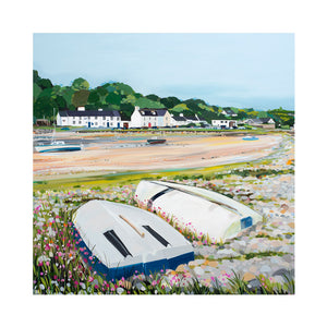 RED WHARF BOATS Greetings Cards (x6)