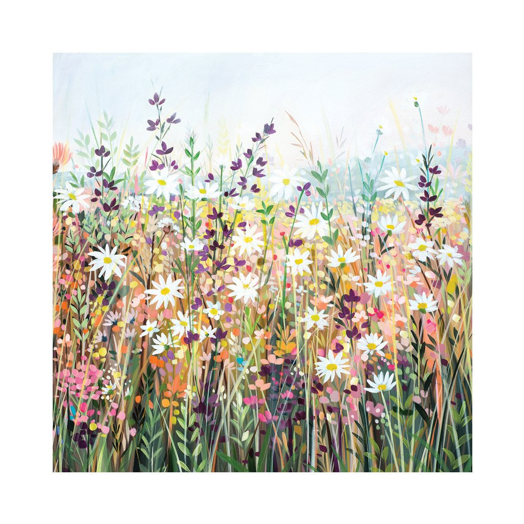 SUMMER MEADOW Greetings Card (x6)