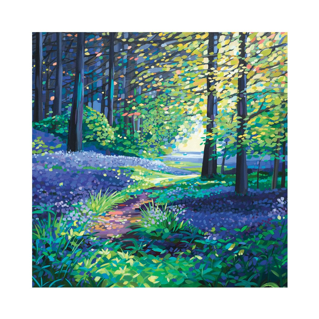 THROUGH THE TREES Greetings Cards (x6)