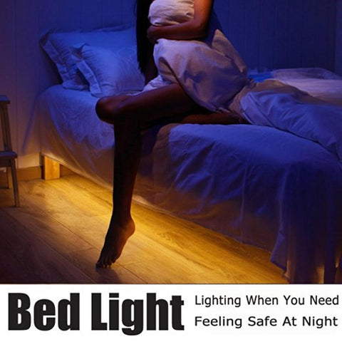 Motion Activated Bed Light (Led Strip)