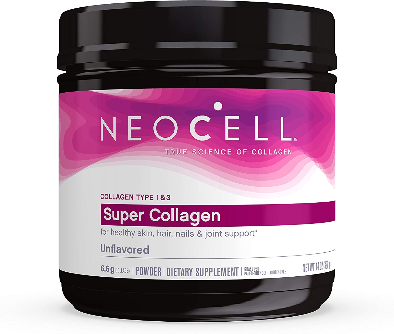 Neocell, Super Collagen Types 1 & 3, Unflavored 14oz