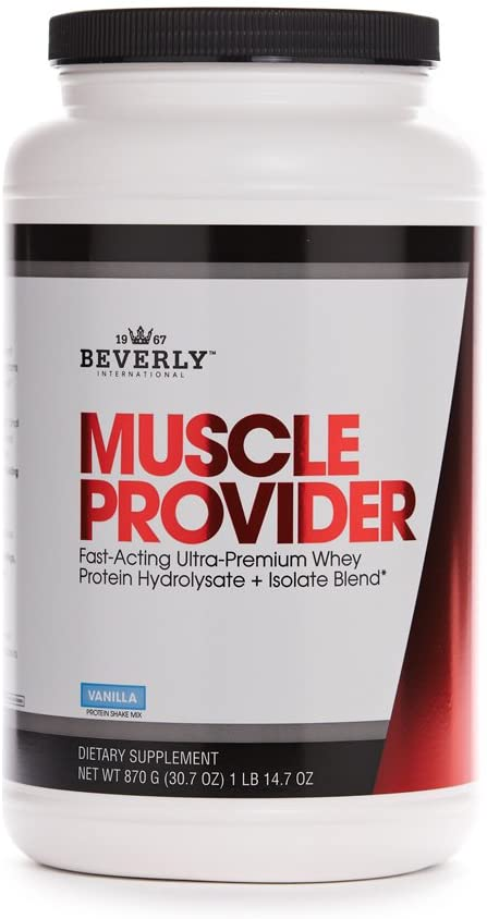 Beverly Int. Muscle Provider, 1 lb. 14.68 oz., Vanilla
