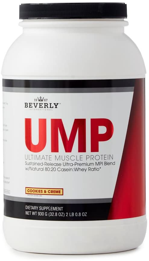 Beverly Int. Ultimate Muscle Protein, 2 Lbs. 0.8 oz., Cookies and Cream