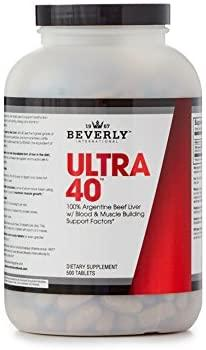 Beverly Int. Ultra 40, 500 Tablets