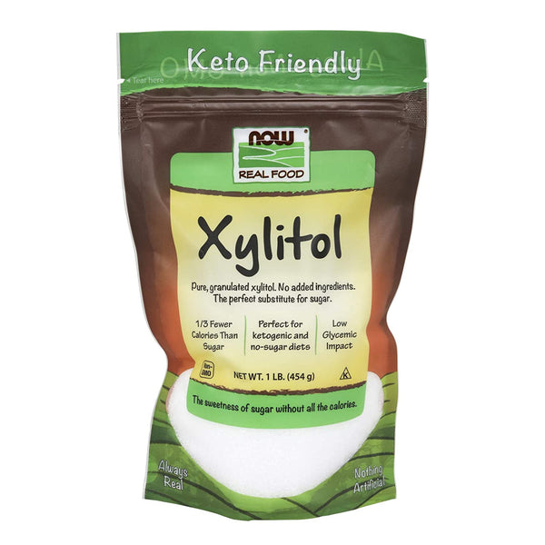 Now Foods, Xylitol 1lb Bag