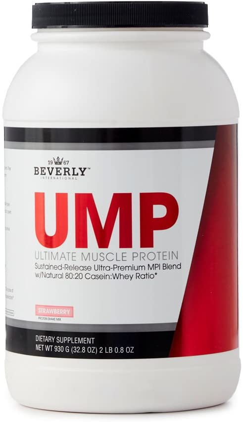 Beverly Int. Ultimate Muscle Protein, 2 Lbs. 0.8 oz., Strawberry