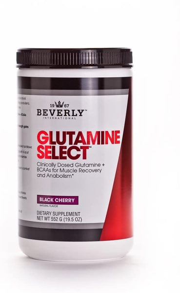 Beverly Int. Glutamine Select Plus BCAAs, 552 grams, Black Cherry