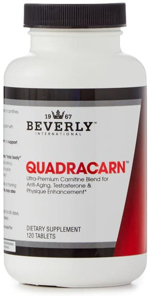 Beverly Int. Quadracarn, 120 Tablets