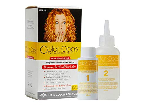 Color Oops, Hair Color Remover Extra Conditioning 4oz