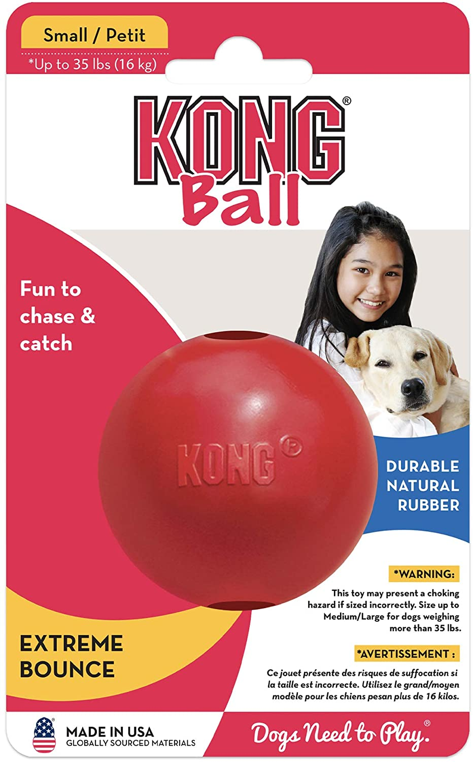 Kong, Small Red Bouncy Ball