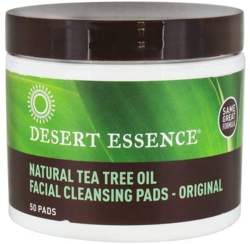 Desert Essence, Facial Cleansing Pads 50ct