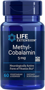Life Extension, Methylcobalamin 5mg 60ct