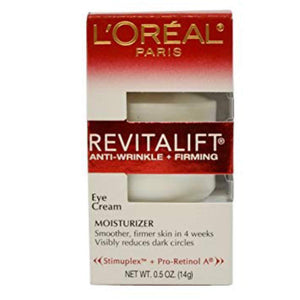 L'Oreal, Revitalift Eye Cream 0.5oz 2pk
